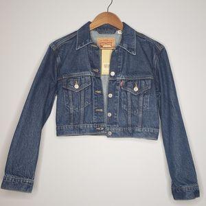 Levi's Crop Jean Jacket 💙